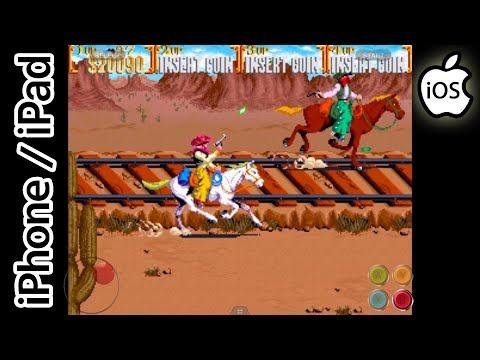 Sunset Riders | Happy Chick Emulator | iPhone / iPad / iOS [1080p] | Arcade
