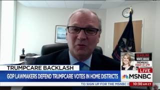 2017 05 09   MSNBC Health Care & Townhall Interview