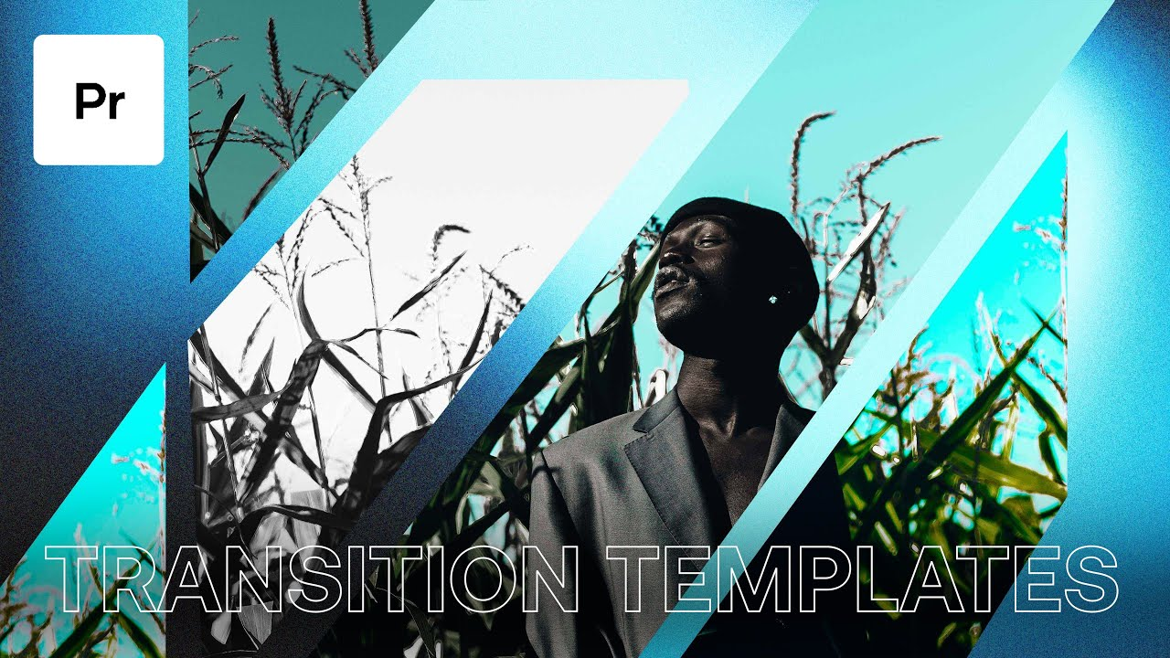 How To Use Motion Array Premiere Pro Template Transitions - Template  Transition Tutorial