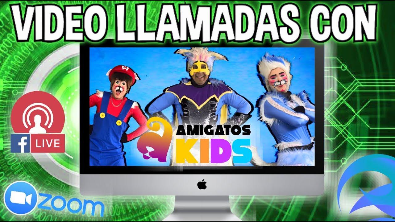 AMIGATOS KIDS SALUDOS CONVIVENCIAS EN LIVE Y MAS...