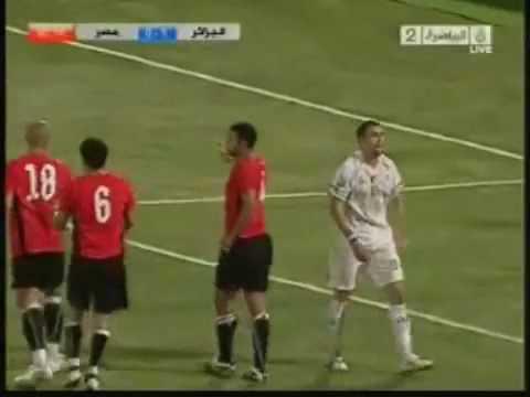 Algerie 1  Egypte 0   ALJAZEERA SPORT   Les Guerriers du désert momifient les pharaons.flv