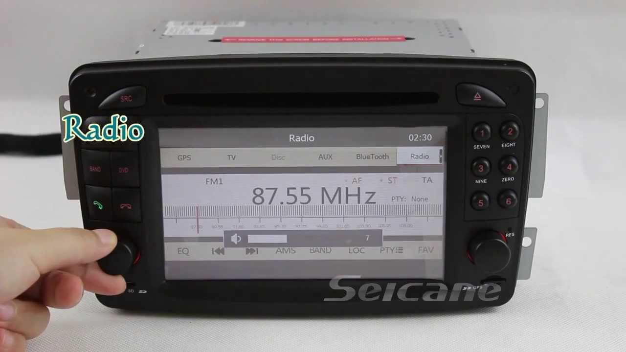Car original stereo replacement upgrade for mercedes benz for Mercedes benz truck radio code