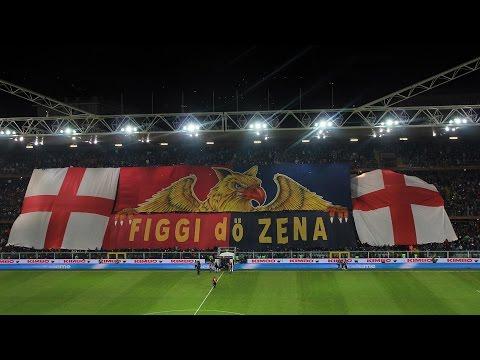 Genoa CFC vs Sampdoria 05.01.2016 Gradinata Sud & Nord