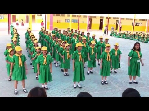 "TPGS Scouting 2016 ""Grade 4 Girls Yell"""