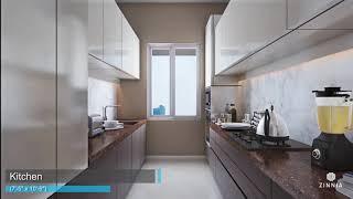 Princecare Zinnia 2BHK Apartment Walkthough | Mumbai Property Exchange