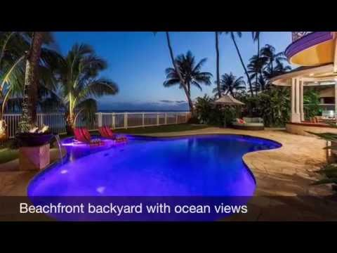 Kalani Villa Rental - Oceanfront Vacation Rental Oahu - Hawaiian Luxury Rentals