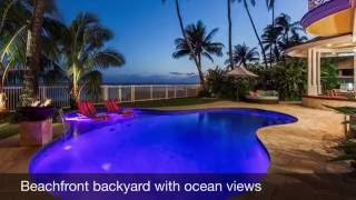 Kalani Villa Rental - Oceanfront Vacation Rental Oahu - Hawaiian Luxury Rentals