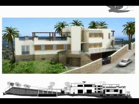 Planos de casas modelo santa leonor 139 arquimex planos for Planos de casas youtube
