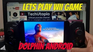 The Amazing Spider Man Android Gameplay Dolphin GC Wii Emulator test Wii games