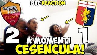 2-1 cesencula È finita! roma-genoa [live reaction]