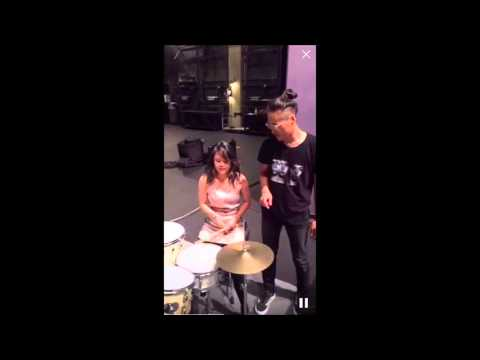 Sophia's Bucketlist: Drum Lesson with John Chong of Run River North
