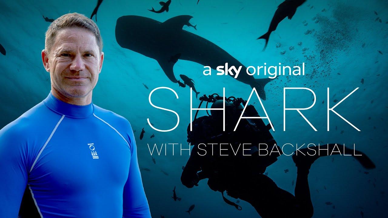 SKY NATURE ANNOUNCE SHARK WITH STEVE BACKSHALL - FIRST LOOK TRAILER