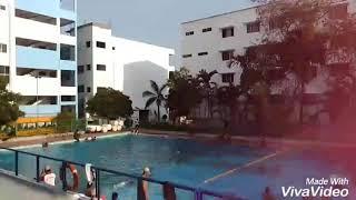 Swimming time lapse    Fun time