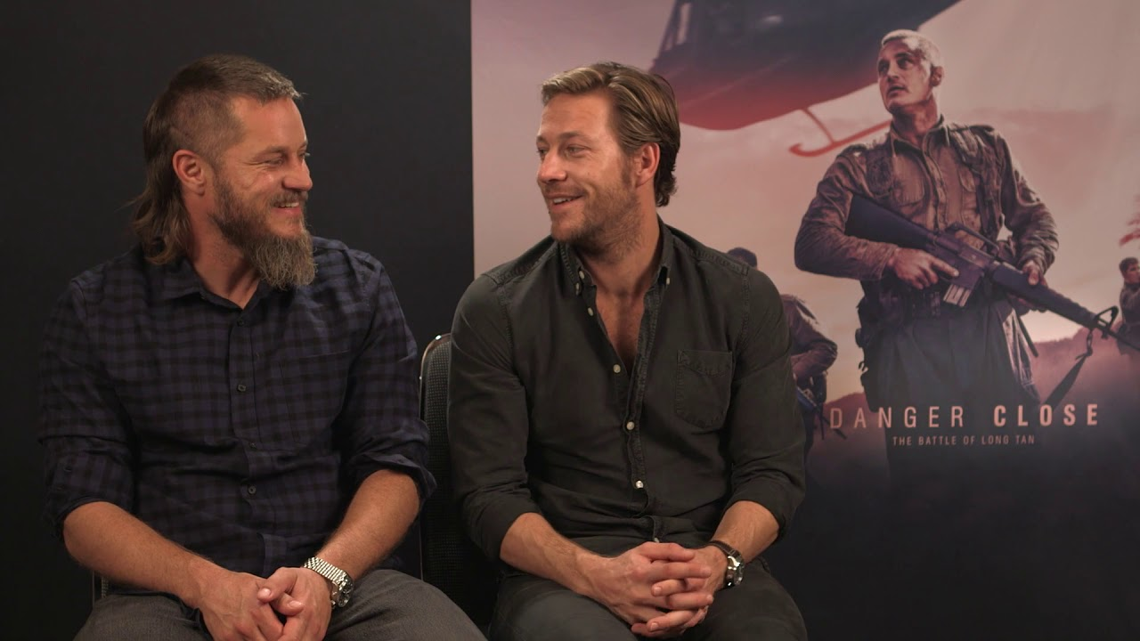 Travis Fimmel And Luke Bracey Danger Close The Battle Of Long Tan Youtube