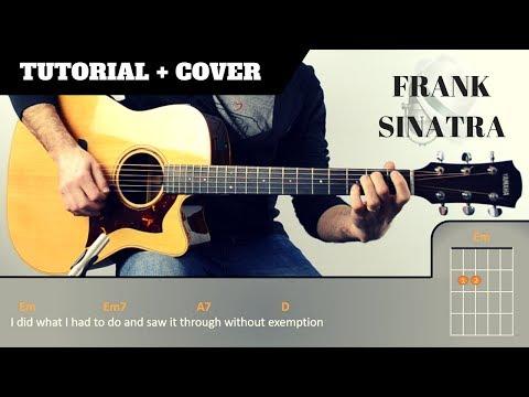How to play MY WAY I Frank Sinatra I  FREE PDF | EASY Tutorial CHORDS