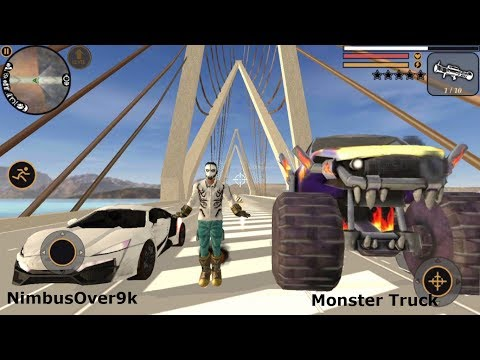 ► Vegas Crime Simulator #31 | Naxeex LLC | Monster Truck vs NimbusOver9k GTA Car Stunt Walkthrough