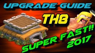 Upgrade TH8 Super Fast (2017)! Clash of Clans TH8 Upgrade Priority List | TH8 Upgrade Order