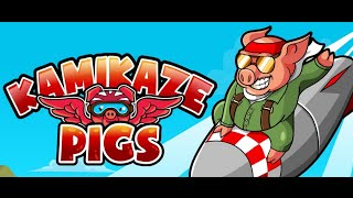 Kamikaze Pigs Full Gameplay Walkthrough All Levels