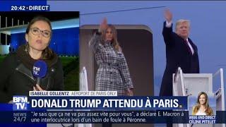 Donald Trump est attendu à Paris