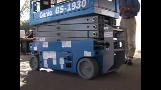 Product Review: Genie GS-1930 Scissor Lift