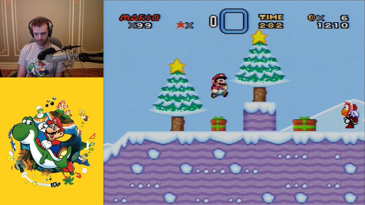 Super Mario World Christmas.Super Mario World Christmas Edition Super Mario World Rom Hack