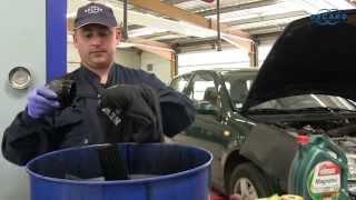 Volkswagen Golf IV tdi (modèle 1997-2000)  - Vidange et changement du filtre à huile