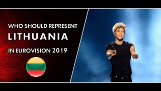 Who Should Represent Lithuania In Eurovision 2019?