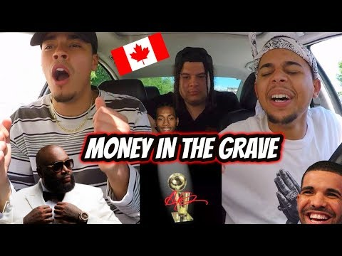 DRAKE - MONEY IN THE GRAVE FT RICK ROSS REACTION REVIEW