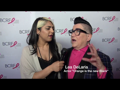 Lea DeLaria talks about David Bowie and Donald Trump