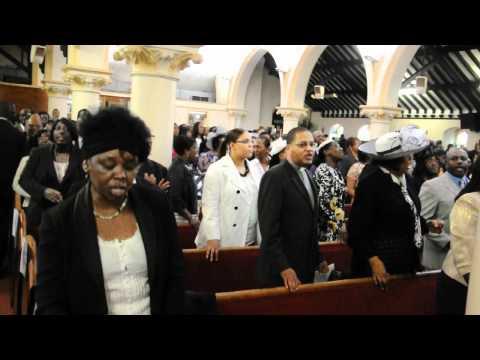 Rev Esmie Hall Funeral @ Brixton NTCG 29.6.12