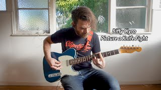 Biffy Clyro - Picture a Knife Fight (Guitar Cover)