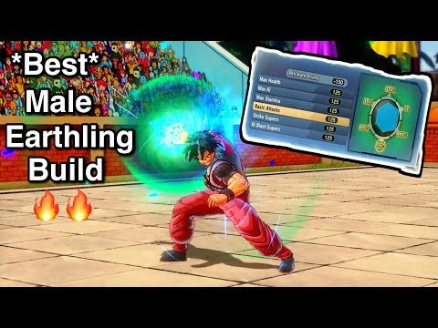 The Best Male Earthling Build In Xenoverse 2!