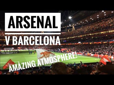 Arsenal v Barcelona (23/02/2016) Pre-match