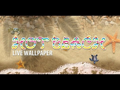 Hot Beach Live Wallpaper