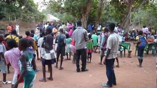 village meeting in Caio, guinea bissau
