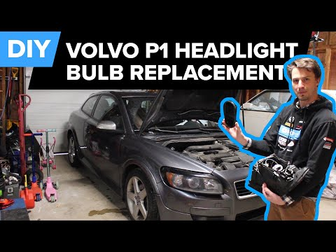 Volvo Headlight Bulb Replacement – DIY (C30, S40 and V50  2004 – 2012)
