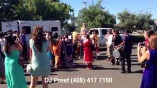 DJ Preet Live Paradise place Fremont (june 29th 2k13) Baarat