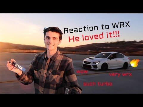 Friends REACTION to 2018 Subaru WRX