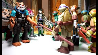 Teenage Mutant Ninja Turtles STOP MOTION, S3E3: Karai's Deception