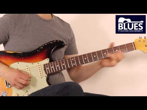 Blues Guitar Lesson - John Mayer Style Solo