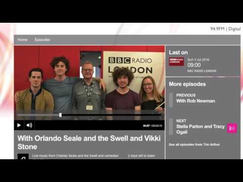 Reviewing the new with Tim Arthur on BBC Radio London July 2016