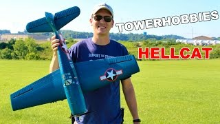 Thumnail for Tower Hobbies Hellcat First Flight Impressions Review - TheRcSaylors