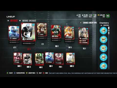 Madden 17 Ultimate Team :: 2 Spanking new FlashBacks! 92 Max Unger! 91 Kiko Alonzo! :: Madden 17 MUT