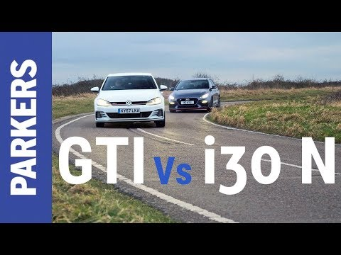 VW Golf GTI vs Hyundai i30 N Performance feat. DRAG RACE