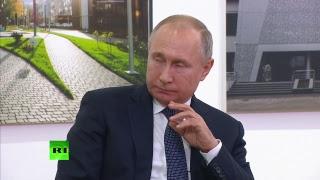 Путин на встрече по вопросам реализации проекта «Жильё и городская среда» в Казани