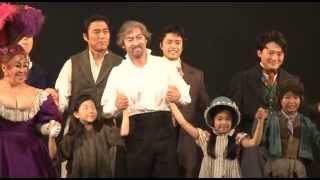 2013年7月10日(水)の帝劇公演千龝楽カーテンコールの模様をほぼノーカッ...
