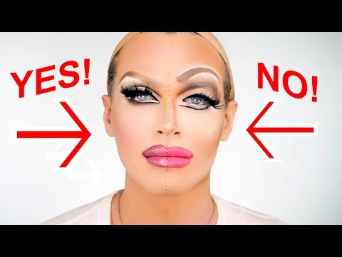 What To Do / What Not To Do Drag Makeup Tutorial