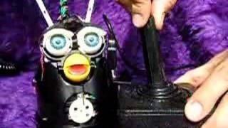 Delux Circuit Bent Furby:Atari Joystick