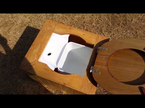Tiny House composting toilet with diverter YouTube