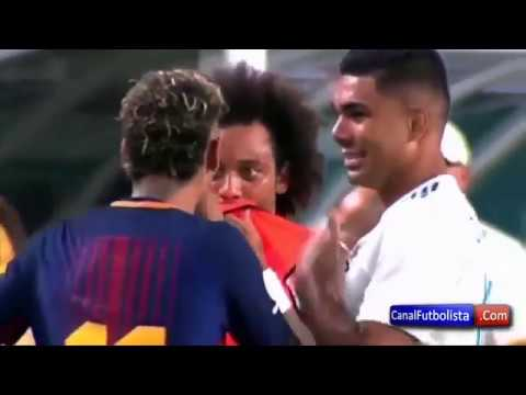 Behind The Scenes Neymar, Marcelo and Casemiro on ICC Cup